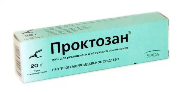 крем проктозан