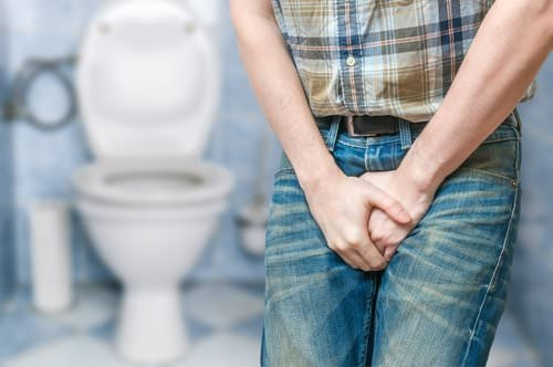 мужчина в туалете